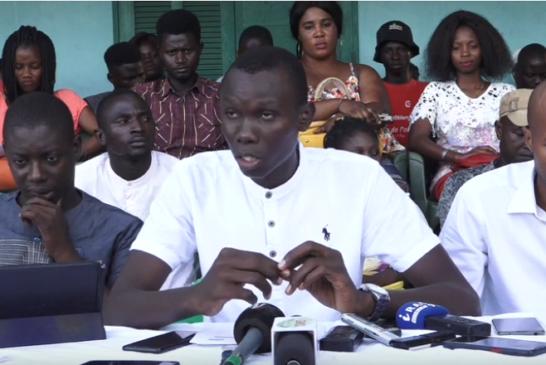 ZIGUINCHOR: Les jeunesses de la mouvance présidentielle avertissent Ousmane Sonko