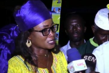BIGNONA Absa Ndiaye remercie Wade et remobilise le pds au profit de Karim