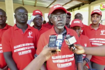 ZIGUINCHOR: L'alliance And Gueusseum en sit-in