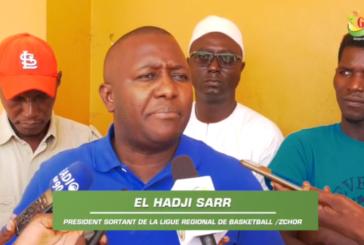 ZIGUINCHOR : Ligue régionale de Basket Ball,El hadj Sarr président sortant se félicite des acquis dans le secteur