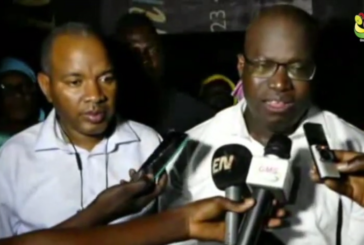 BIGNONA Aubin Sagna inaugure la ligne Dakar Bignona de SENEGAL DEM DIKK