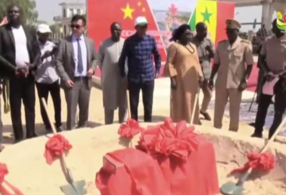 BIGNONA : Moussa Baldé lance les travaux de réhabilitation du barrage d'Affiniam