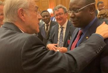 PARIS… Mamadou L. Keita (ONI) défende les intérêts du Sénégal devant «les grands» du monde