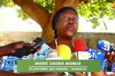 MARIE SAGNA MANGA DE LA SECTION D'OUSSOUYE de la plateforme des femmes salue la portée de la consultation