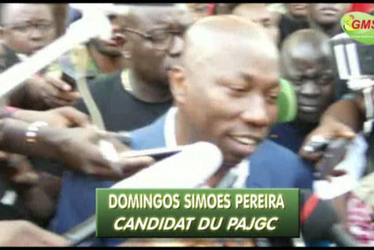 DOMINGOS SIMÕES PEREIRA,56 ans se félicite de la maturité du peuple Bissau-guinéens après son vote