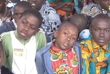 PÈLERINAGE DES ENFANTS : MGR Paul Abel prône pour une éducation chrétienne